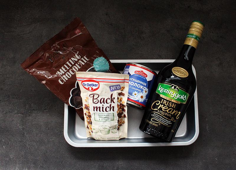 irish cream fudge zutaten - Irish Cream Fudge - Genusswürfel aus vier Zutaten