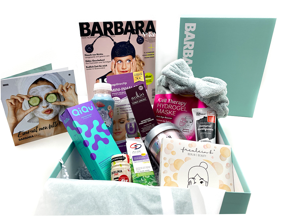 inhalt 1 - Einmal neu bitte mit der Barbara Box
