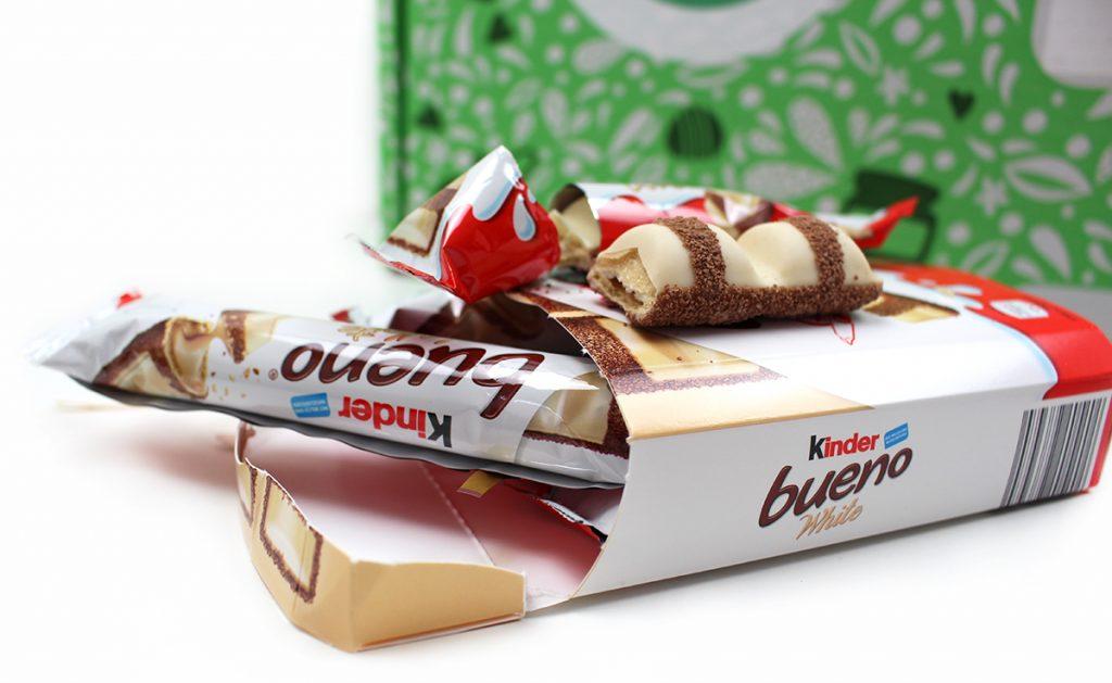 kinder bueno white 1024x629 - goodnooz Box Januar 2020 - Butter bei die Fische