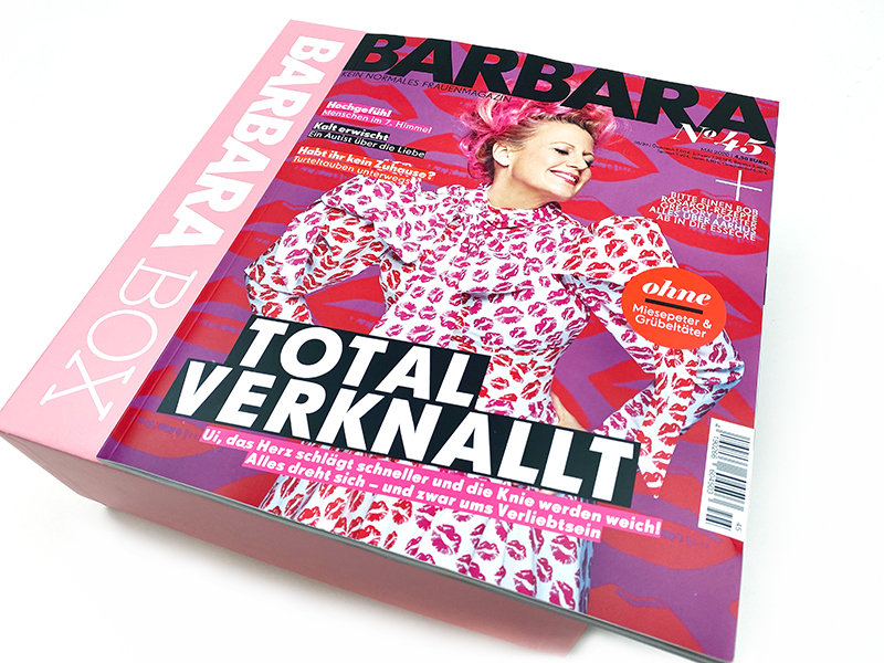 "cover bb - Barbara Box April 2020 - ""Ein Hoch auf mich!"""