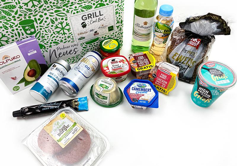 inhalt1 - Vegane Burger, Pulled Pork & Sweet Chicken in der BBQ Cool Box