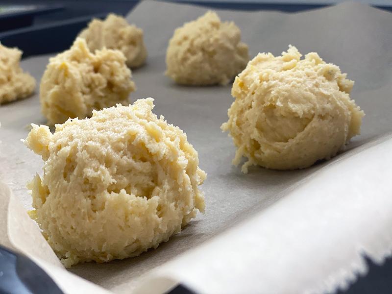 kugeln - Lemon Cookies - super saftige Zitronenkekse