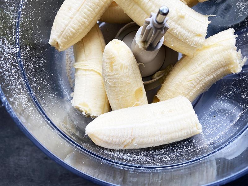 bananen - Easy Peasy Haferflocken Bananenbrot