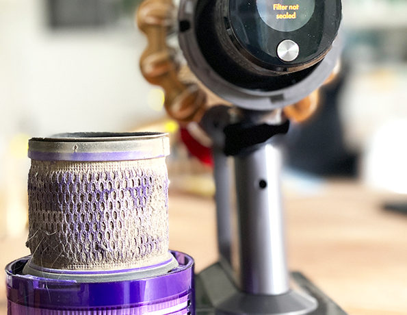filter2 595x460 - Dyson Staubsauger V11 Absolute Pro