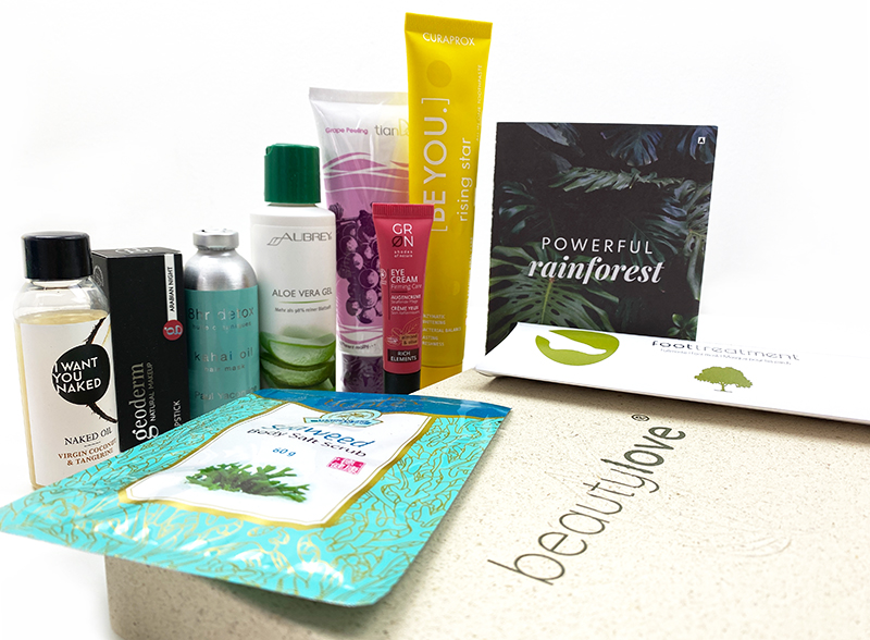 bl1 - Beautylove Box Nummer 2 - Powerful Rainforest