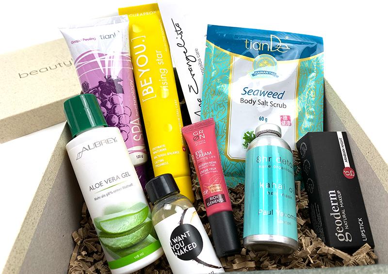 bl2 - Beautylove Box Nummer 2 - Powerful Rainforest