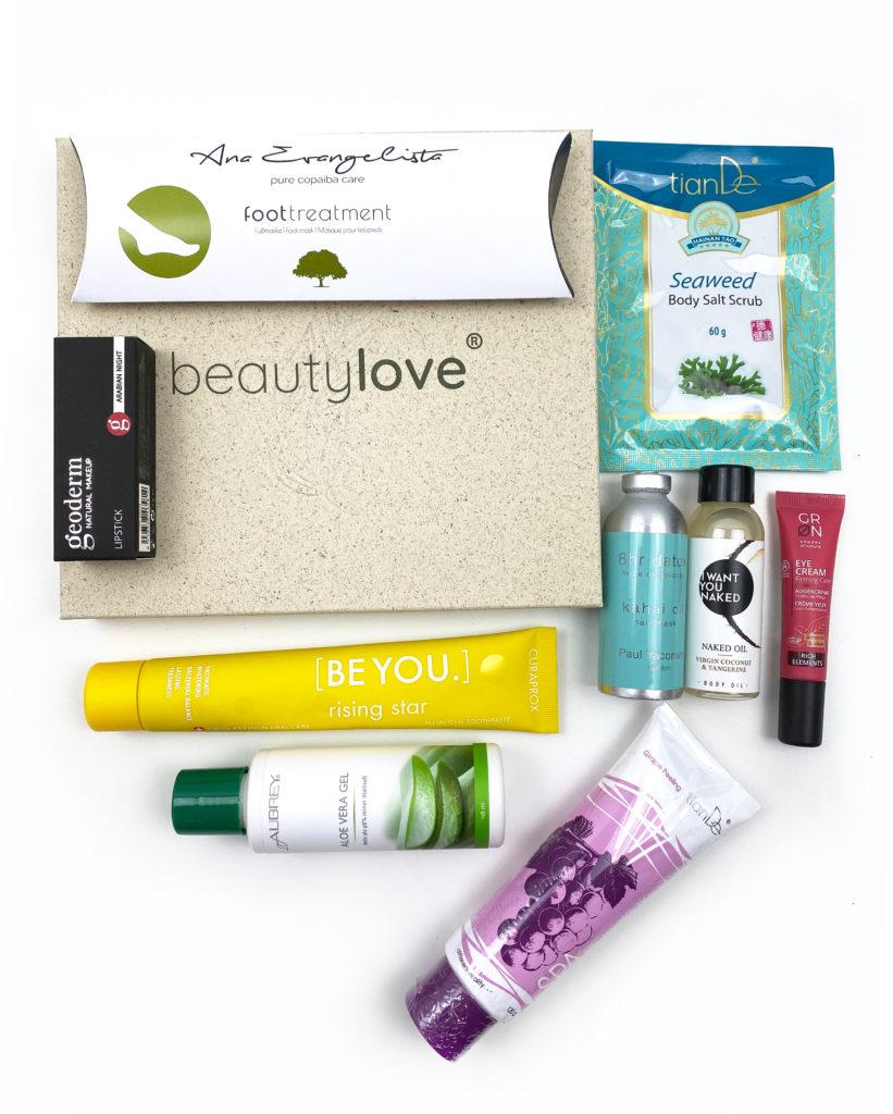 bl5 821x1024 - Beautylove Box Nummer 2 - Powerful Rainforest