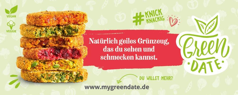 Banner 1 - GreenDate - Natürlich geiles Grünzeug & Gewinnspiel