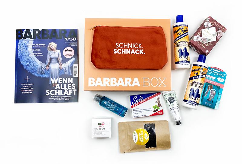 """inhalt2 - Barbara Box """"Herrlich herbstlich"""" Unboxing"""
