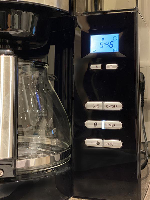 aromafresh timer - Melitta AromaFresh Filterkaffeemaschine