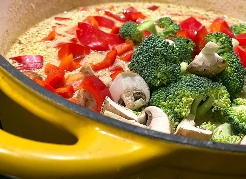 Thai Suppe gemuese - Thai Nudelsuppe mit Wohlfühlfaktor