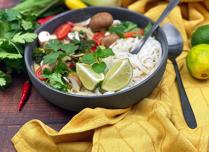 Thai Suppe totale - Thai Nudelsuppe mit Wohlfühlfaktor