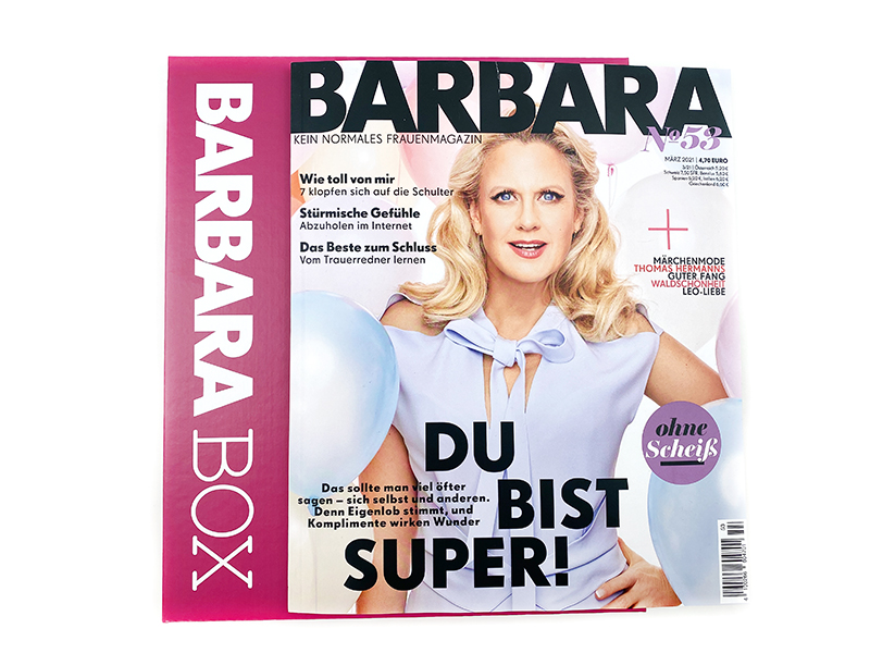 tak off titel - Ready for take-off mit der Barbara Box