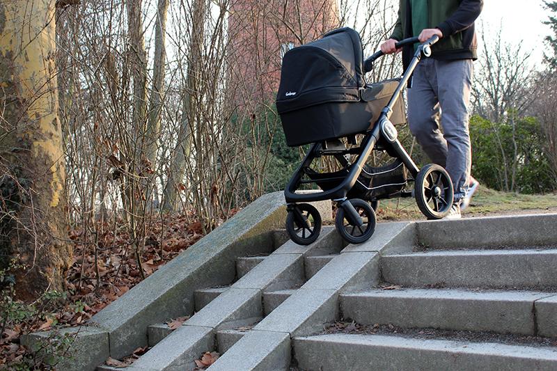 treppe kl - Emmaljunga Kinderwagen im Langzeitttest