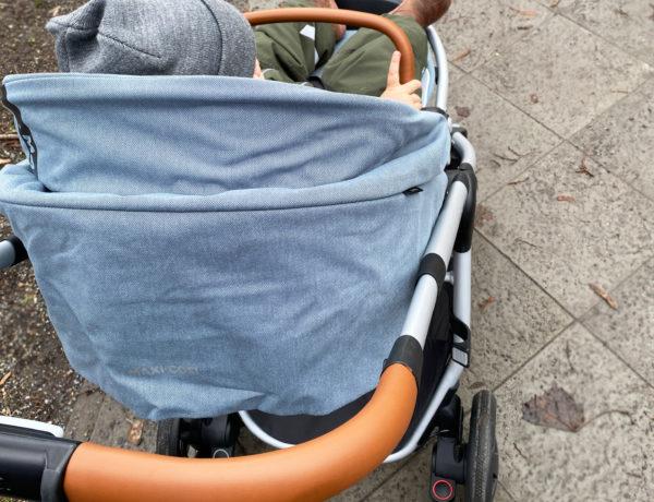 adorra fahren 600x460 - Maxi-Cosi Adorra Kinderwagen