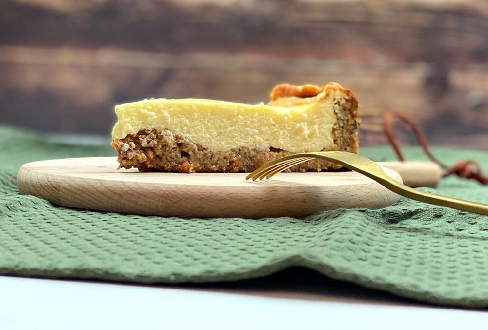 cheesecake 1 - Cremiger Karotten-Käsekuchen