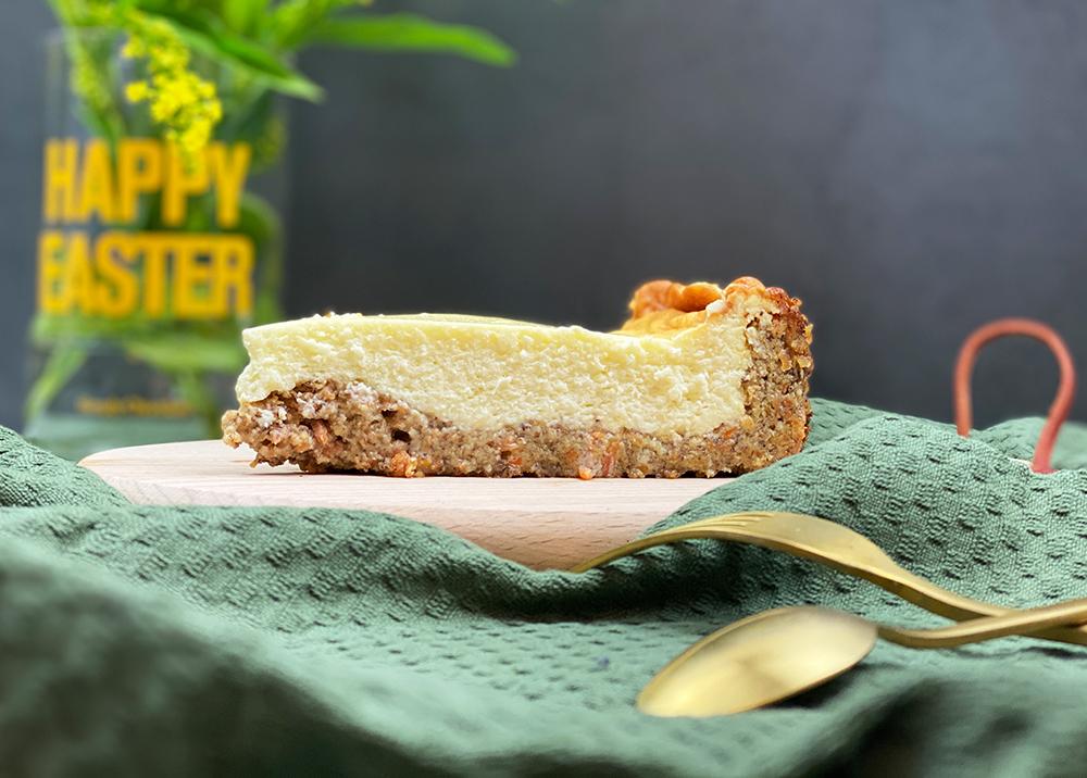 cheesecake total - Cremiger Karotten-Käsekuchen