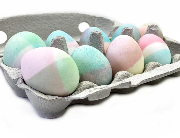 pastell seite 600x460 - Ostereier färben - 3 einfache Trends zum Selbermachen