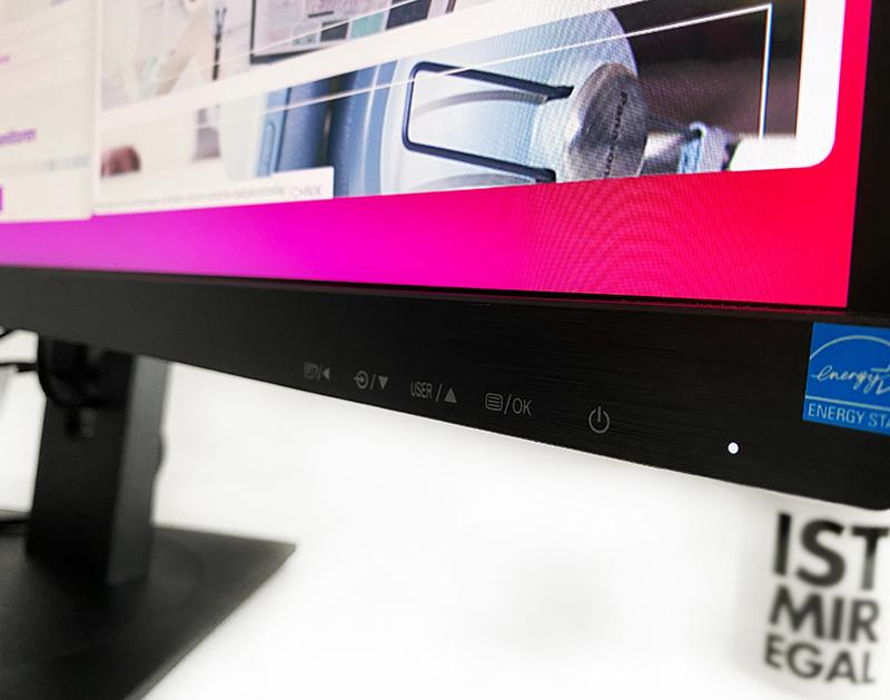 menue - Curved Monitor von Philips - ein HomeOffice Allrounder?