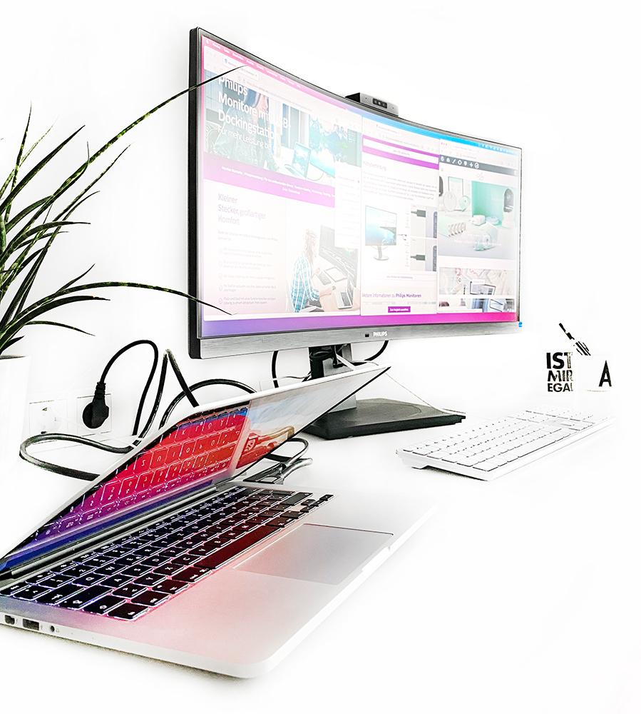 totale 2 - Curved Monitor von Philips - ein HomeOffice Allrounder?