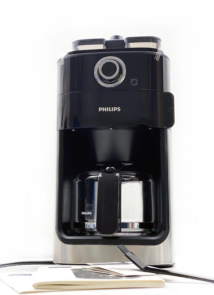 ausgepackt 742x1024 - Philips Grind und Brew Filterkaffeemaschine