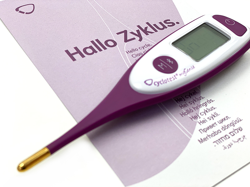 thermometer - cyclotest mySense Basalthermometer